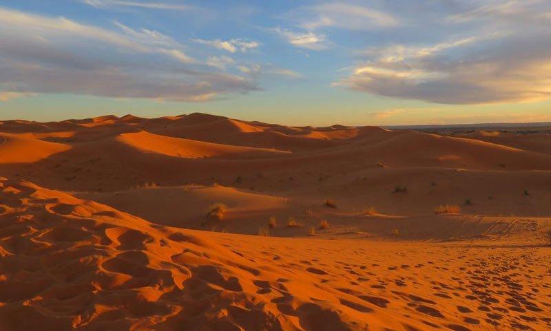 Sahara Marokko: Erg Chebbi