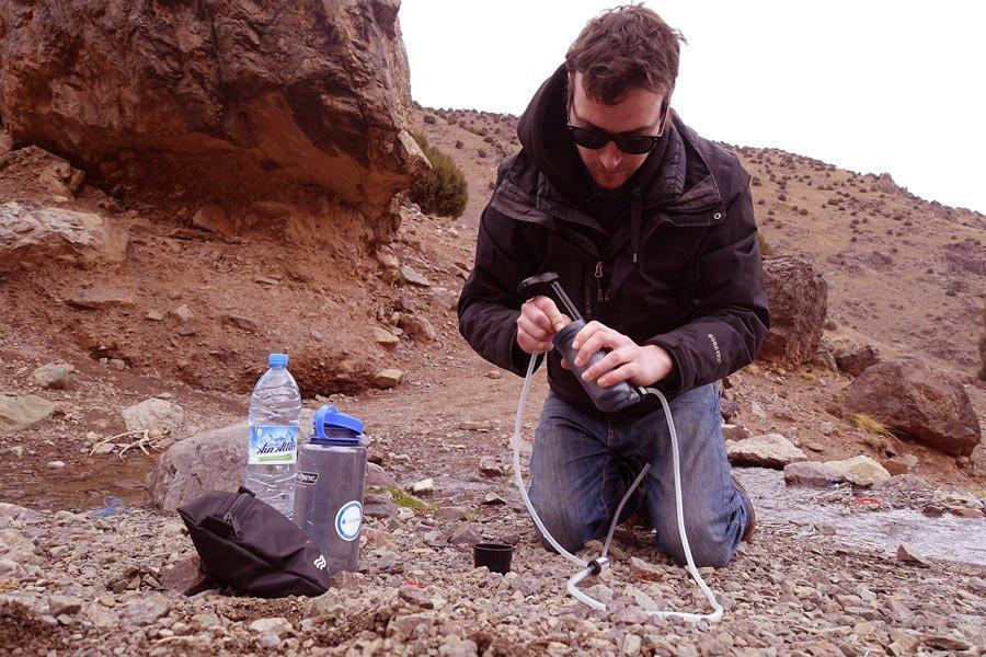 Wasserfilter in Marokko: Katadyn Hiker Pro
