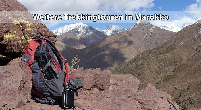 Trekkingtouren im Hohen Atlas