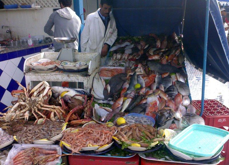 Essaouira Fischstand
