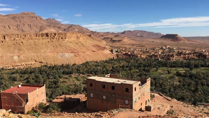 Tinerhir, Marokko