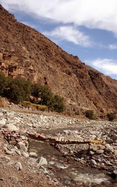 Auf dem Weg von Imlil nach Setti Fatma