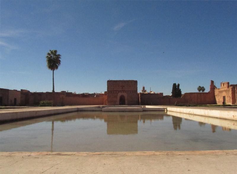 el-badi-palast-marrakesch