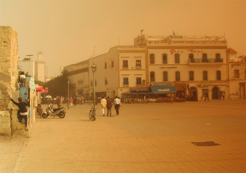 Essaouira Hassan-Platz