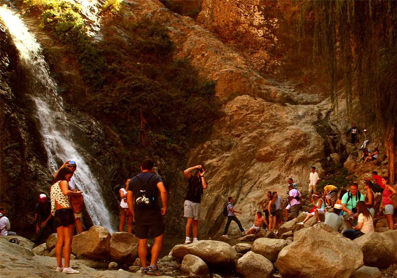 Die Wasserfälle haben Setti Fatma berühmt gemacht